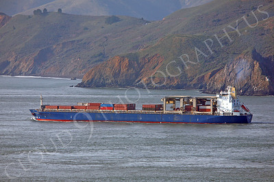 CCS 00007 Civilian cargo ship leaves San Francisco Bay by Peter J Mancus