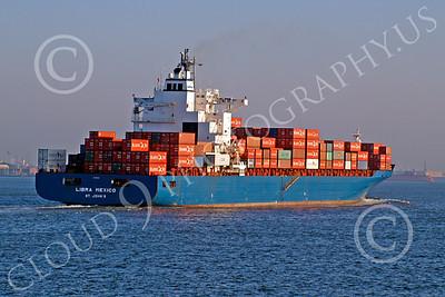 CCS 00028 Civilian cargo ship LIBRA MEXICO, St John's, by John G Lomba