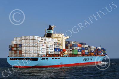 CCS 00026 Civilian cargo ship SEA LAND EAGLE, Norfolk VA, Maersk Line, by John G Lomba