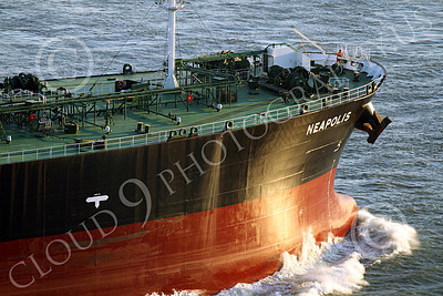 COTS 00116 Powerful engines drive these massive ocean going oil tankers, pushing aside a lot of water, for thousands of miles, year after year, by Peter J Mancus