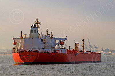 COTS 00006 Civilian oil tanker ship EAGLE BEAUMONT Signapore, by John G  Lomba