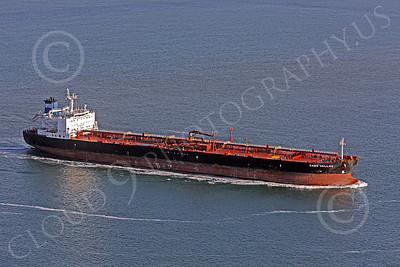 COTS 00149 The oil tanker CABO HELLAS on the Pacific Ocean, by Peter J Mancus