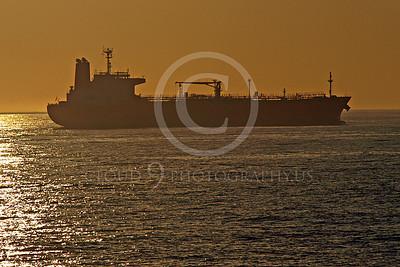 COTS 00015 A civilian oil tanker ship in New York harbor, by John G Lomba