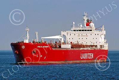 COTS 00014 Civilian oil tanker ship FREJA ATLANTIC, Lauritizen, by John G Lomba