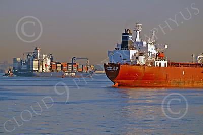 COTS 00008 Civilian oil tanker ship JOHANN JACOB George Town, by John G  Lomba