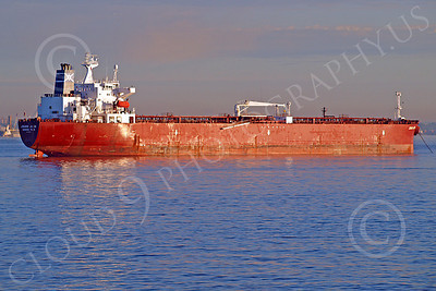COTS 00007 Civilian oil tanker ship JOHANN JACOB George Town, by John G  Lomba