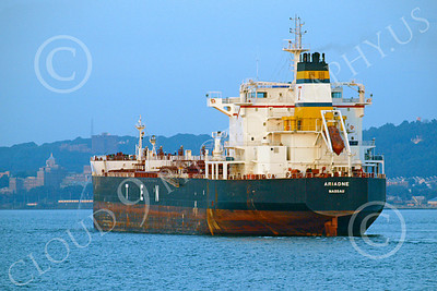 COTS 00002 Civilian oil tanker ship ARIADNE Nassau, by John G  Lomba