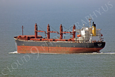 COTS 00005 Civilian oil tanker Alitis leaves San Francisco Bay headed for the Pacific Ocean by Peter J Mancus