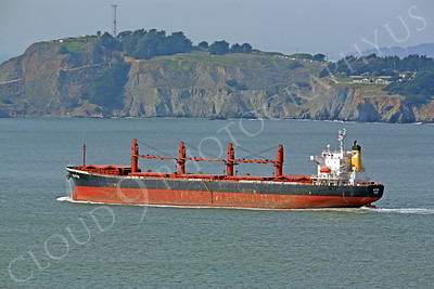 COTS 00008 Civilian oil tanker Alitis leaves San Francisco Bay by Peter J Mancus