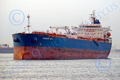 COTS 00001 Civilian oil tanker ship SHARON SEA, by John G  Lomba
