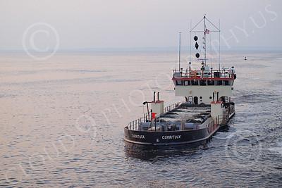 DREDGE 00008 Dredge CURRITUCK under way in New York Harbor, by John G Lomba