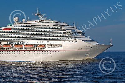 OLS 00026 Ocean liner ship CARNIVAL GLORY, by John G Lomba