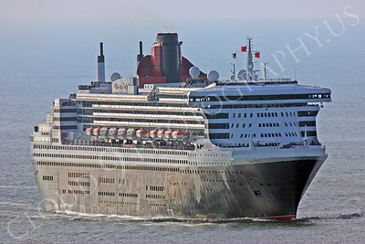 OLS 00001 Queen Mary 2 approaches San Francisco Bay by Peter J Mancus