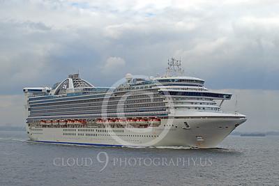 OLS 00017 Ocean liner ship CARIBBEAN PRINCESS, by John G Lomba
