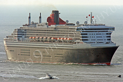 OLS 00003 Queen Mary 2 approaches San Francisco Bay by Peter J Mancus