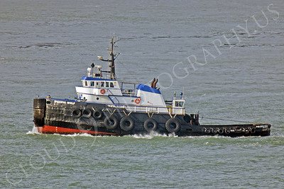 TUGB 00001 Tug boat Pacific Wolf leaves San Francisco Bay by Peter J Mancus