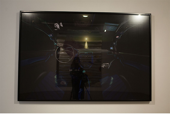 Luis Gispert, <i>Blue Car</i>, 2010, C-print. All works courtesy of the artist and Rhona Hoffman Gallery.