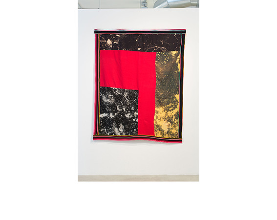 Sterling Ruby, <i>Quilt (4503)</i>, 2013, Canvas, fleece and elastic. Courtesy of the artist.