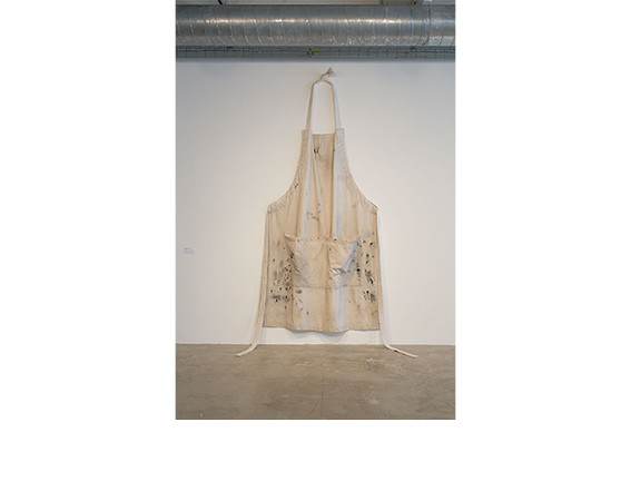 Amanda Ross-Ho, <i>APRON #2 (MONOCHROMATIC)</i>, 2011. All works collection of Nancy and David Frej, Chicago.