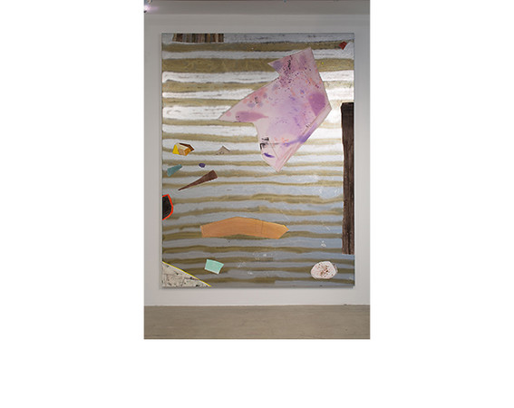 Rebecca Morris, <i>Untitled #06</i>, 2005, Oil, acrylic and spray paint on canvas. Collection of Booth School of Business, University of Chicago.