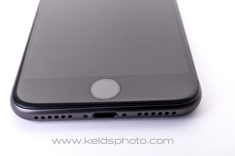 iPhone home bottom