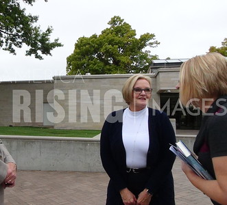 Claire McCaskill At Book Signing At Truman Museum In Independence, MO