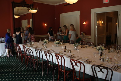 Claire and Dustin's Bridal Brunch and Rehearsal dinner