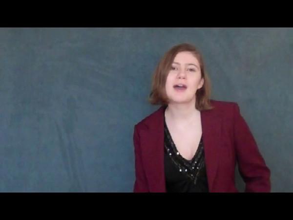 Claire Evans Curb Scholar