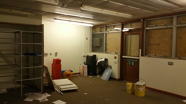 Another classroom but with storage