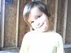 Clare sweet smile in Grandaddy's building
