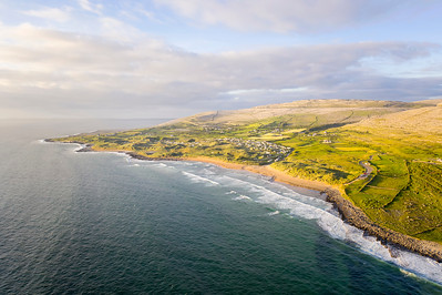 Aerial view of Fanore