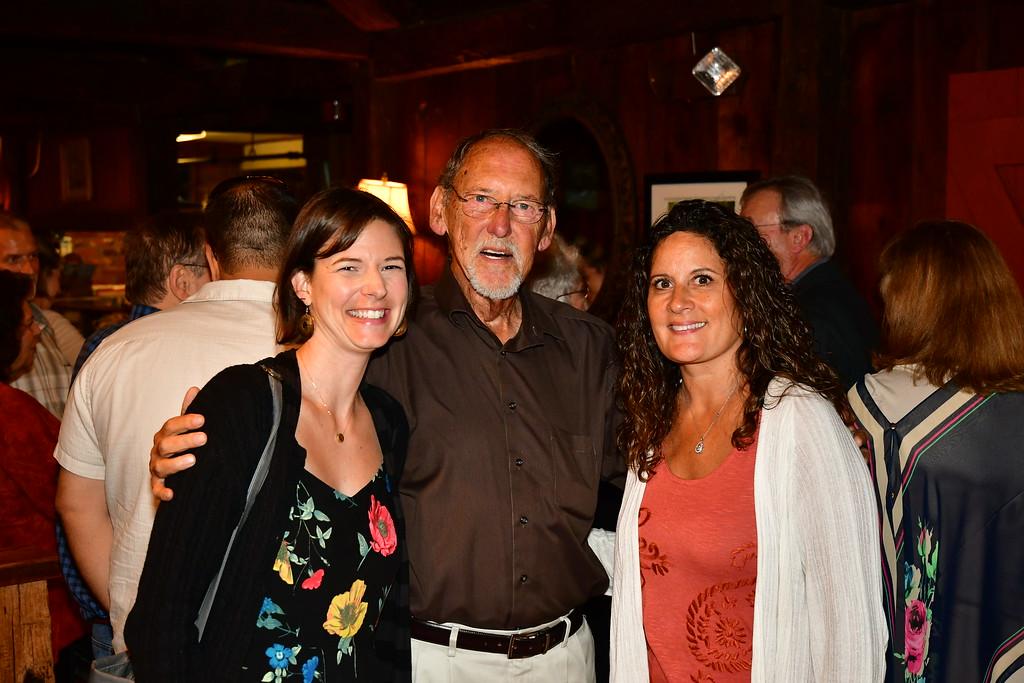. Meredith Miles, Frank Waugh and Melissa Hamel  Sentinel & Enterprise / Jim Fay