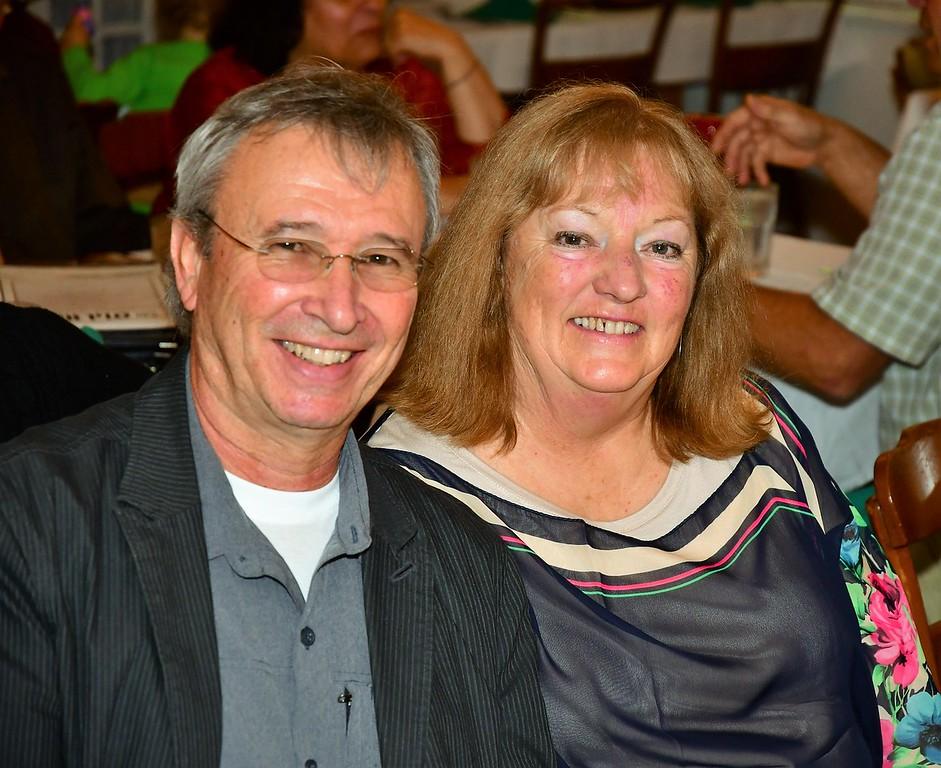. Don & Kathy Goguen. Sentinel & Enterprise / Jim Fay