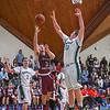 Groton-Dunstable's Tyler LeClrerc puts up a shot. Nashoba Valley Voice/Ed Niser