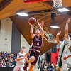 Groton-Dunstable's Evan Cook goes up for a shot during Friday night's game. Nashoba Valley Voice/Ed  Niser