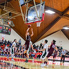 Groton-Dunstable's Gavin Keough puts up a layup during the fourth quarter. Nashoba Valley Voice/Ed Niser