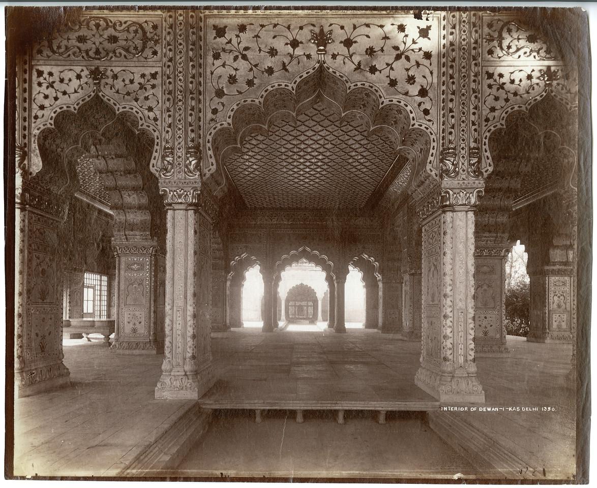 The Emperor's Diwan -I-Khas Delhi Palace Samuel Bourne