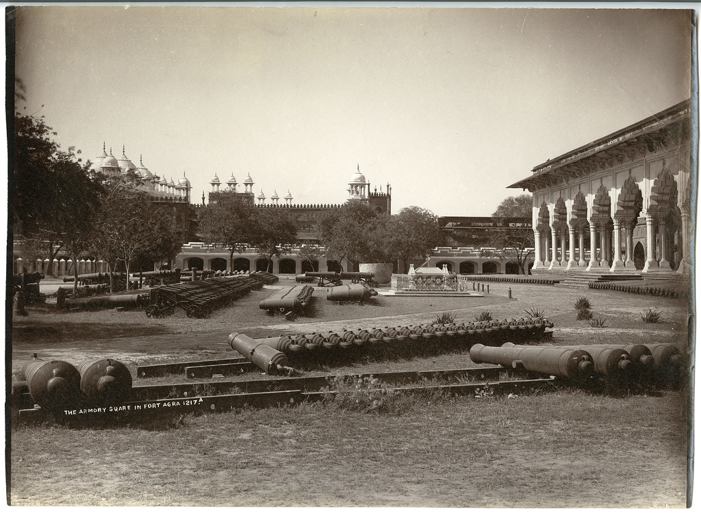 Armory Placed in the Mughal Emperor's Palace Delhi Bourne & Shepherd