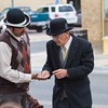 Re-enactment of Clarkdale Bank Robbery, 4/8/17