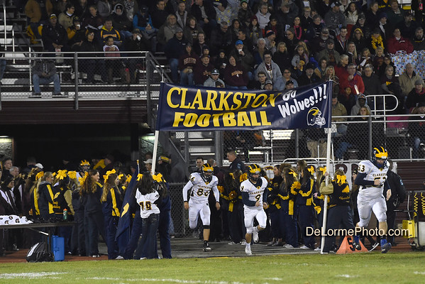 Clarkston-Davison Playoff Football 11-04-16