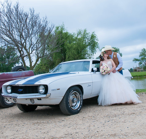 Muscle Car and Wedding