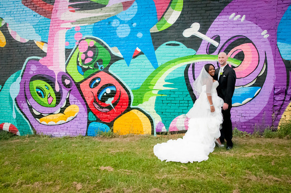Detroit Graffiti Wedding