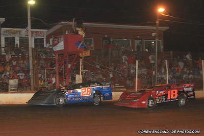 Erb Snaps Drought with Clarksville Speedway Summer Nationals Triumph