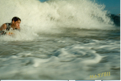 My First Water Cam and the first shot of me with a water cam. Not very good, Pierce!! Hahha