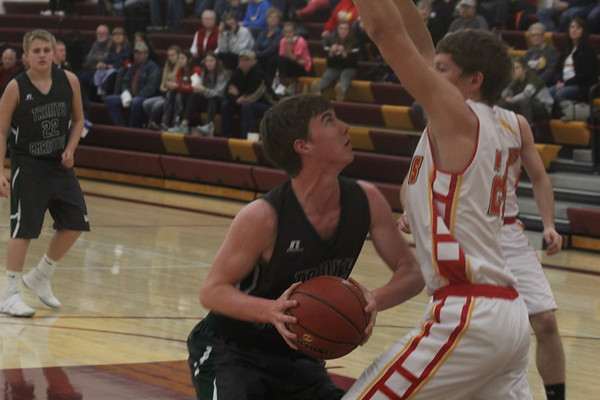Class 1A District 2 boys' basketball tournaments: TC vs. CCE in Hartley 2-13-17