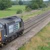 37603 on rear of Derby to Bristol test train  near Shrivenham, Oxfordshire