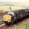 37006 passing New Tupton on 10th September 1982