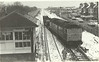 47 339 <br /> <br /> Eases across the Cross over at Ainsdale <br /> <br /> The line still exists but the Loco / Cross Over / Signal Box are all now long gone