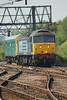 47 501 <br /> <br /> Location Ashburys West Jct <br /> <br /> date 1st Sept 010 <br /> <br /> Working 2Z01 10.37 Liverpool - Preston Via Manchester