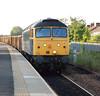 47 237<br /> <br /> Location Eaglescliffe <br /> <br /> Date 13 June 08 <br /> <br /> Working 6Z70 Stockton - Cardiff Tidal Scrap train